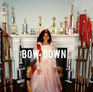 Das Cover zu Bow Down