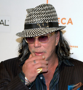 Mickey Rourke 2009, Quelle: Wikipedia, Foto: David Shankbone