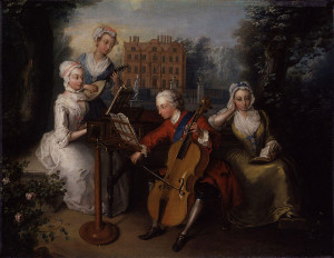 775px-Frederick,_Prince_of_Wales,_and_his_sisters_by_Philip_Mercier